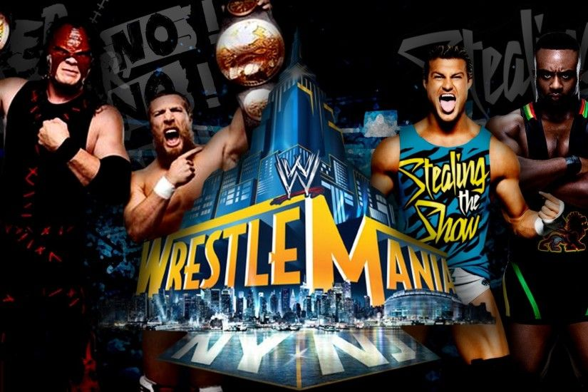 Team, Hell, No, Vs, Dolph, Ziggler, And, Big, Langston, Wrestlemania, Full,  Screen, Hd, Wallpaper, Abstract, Artwork, Cool Images, 2000×1124 Wallpaper  HD