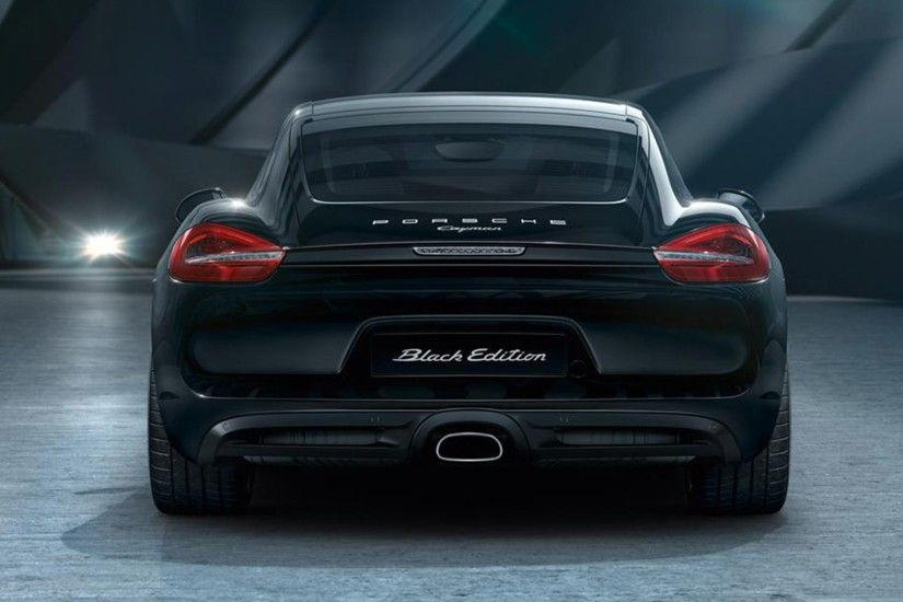 Porsche Cayman 2017 release wallpaper 5