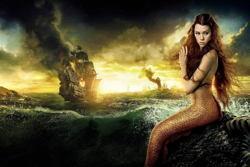 Mermaid Background - Wallpaper, High Definition, High Quality .