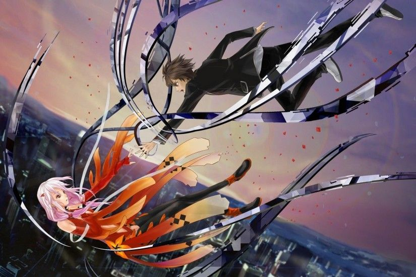 Inori Yuzuriha And Shu Ouma - Guilty Crown