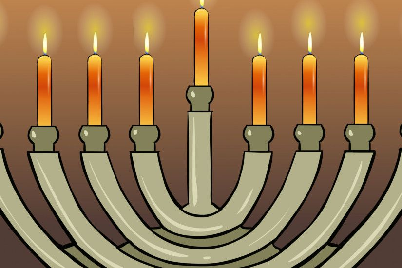 menorah wide Source · Download Wallpaper 2048x2048 Hanukkah Jewish holiday  2014