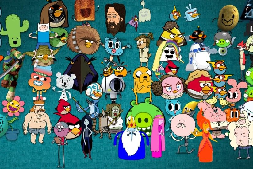 Adventure Time Angry Birds wallpaper