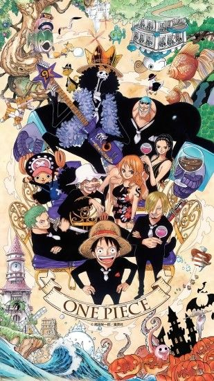 Upscaled One Piece 20th Anniversary Wallpapers...at last! Enjoy!