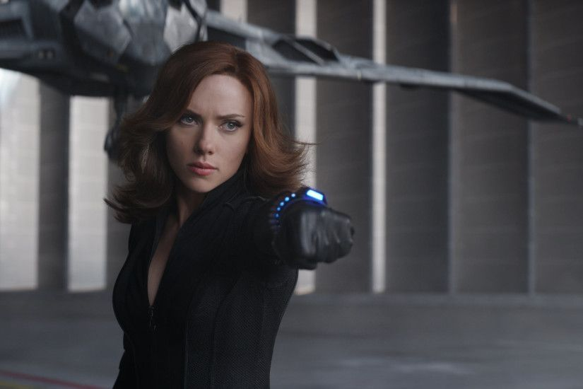 Movie Captain America: Civil War Black Widow Scarlett Johansson Wallpaper