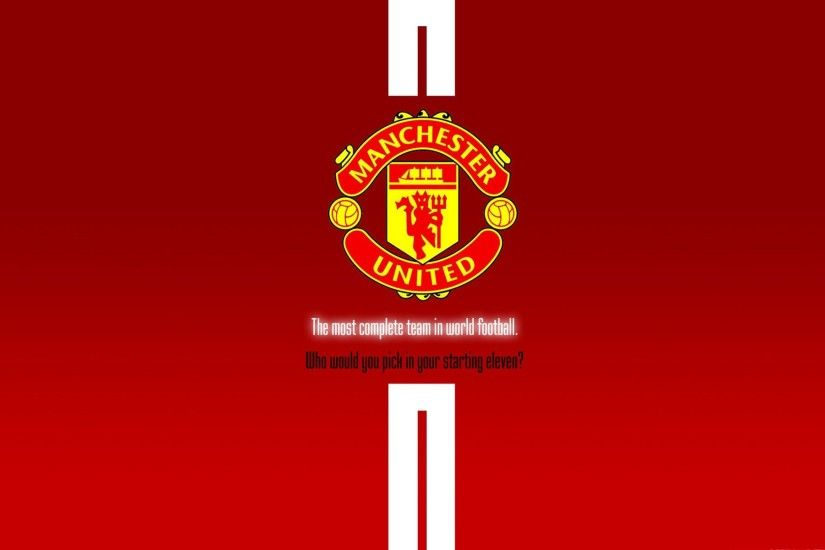 Manchester United Black Logo Wallpaper by DALIBOR manchester 1920×1200  Wallpaper Manchester United (41