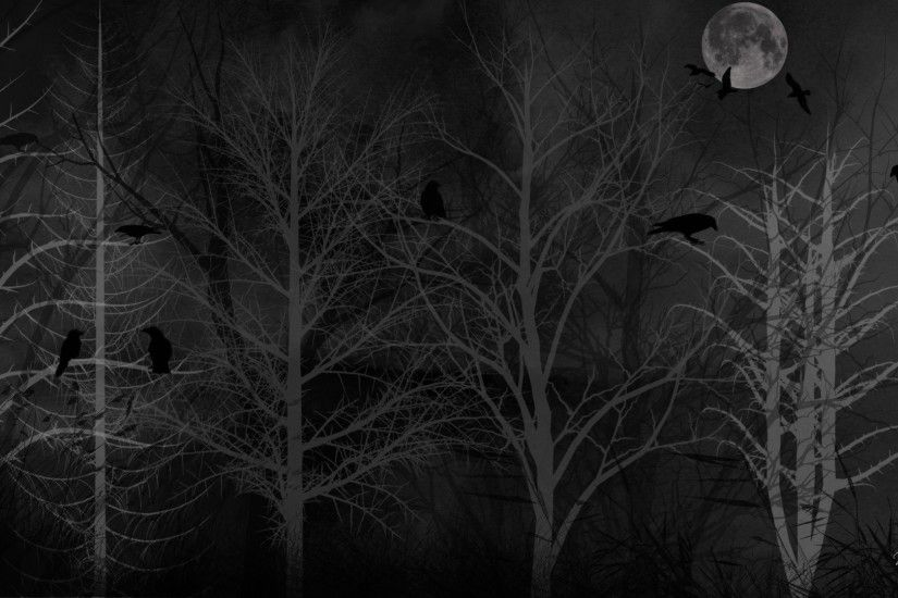 1920x1080 Dark ghost gothic wood trees fantasy evil horror wallpaper |  1920x1080 | 118275 | WallpaperUP