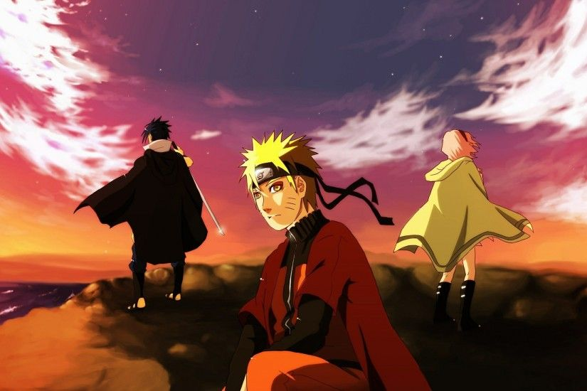 Download Source · Download Wallpaper 3840x2160 Naruto Team of seven Uchiha  sasuke