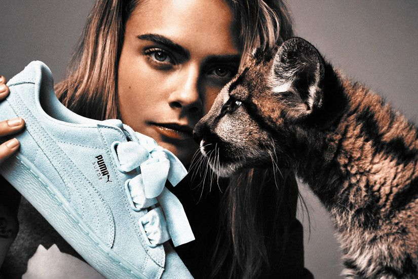 ... Cara Delevigne - Puma - 4k Wallpaper by Total-Chuck