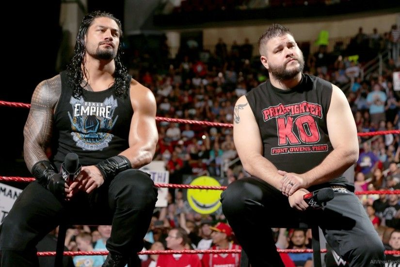 Kevin Owens And Roman Reigns