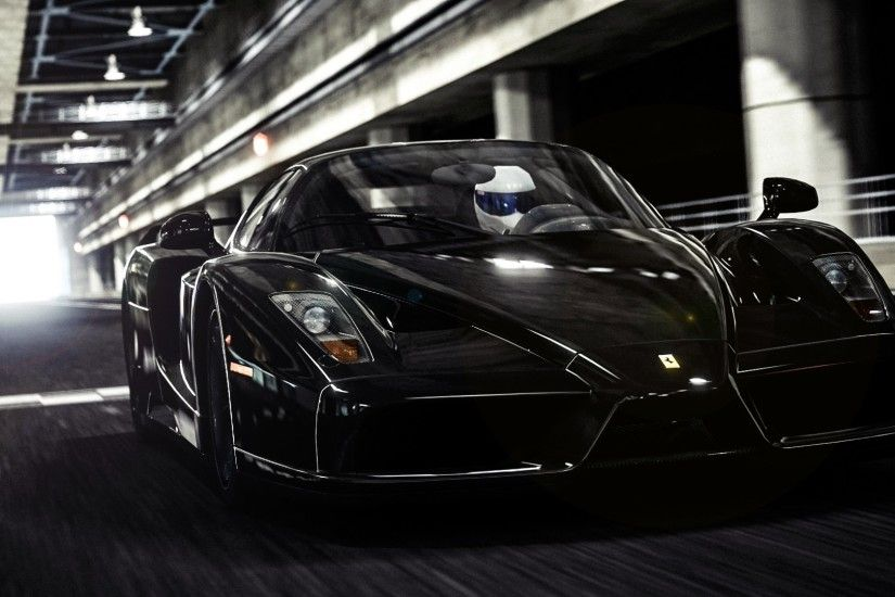 Black Ferrari Wallpapers Free
