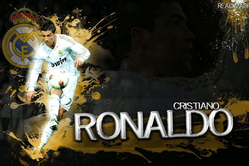 Cristiano Ronaldo Wallpaper Real Madrid FC Wallpaper.