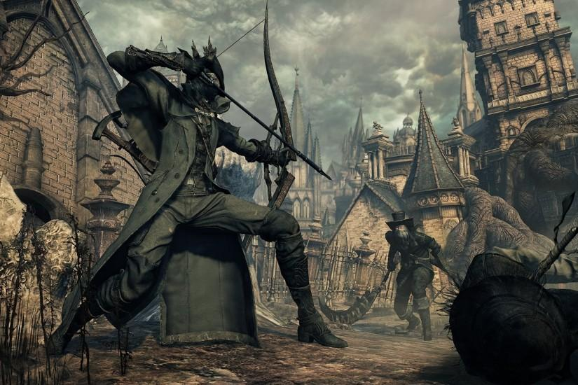 hd wallpaper bloodborne
