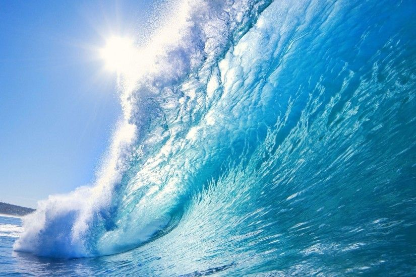 Images For > Beautiful Blue Ocean Background