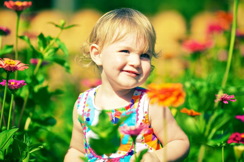 Cute child HD wallpapers for desktop free download