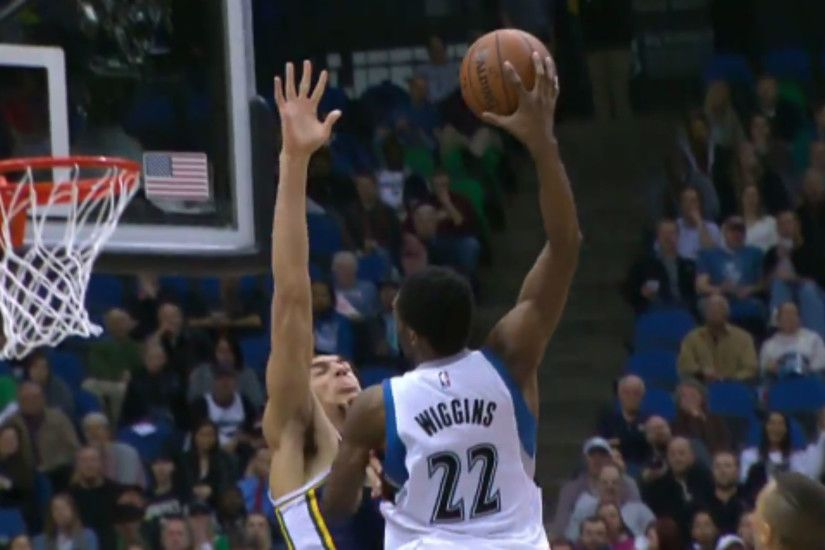 Andrew Wiggins dunks all over Rudy Gobert not once, but twice | NBA |  Sporting News