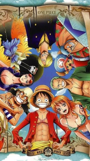 "Anime ""One Piece"" (gang of straw) - wallpaper Mais"