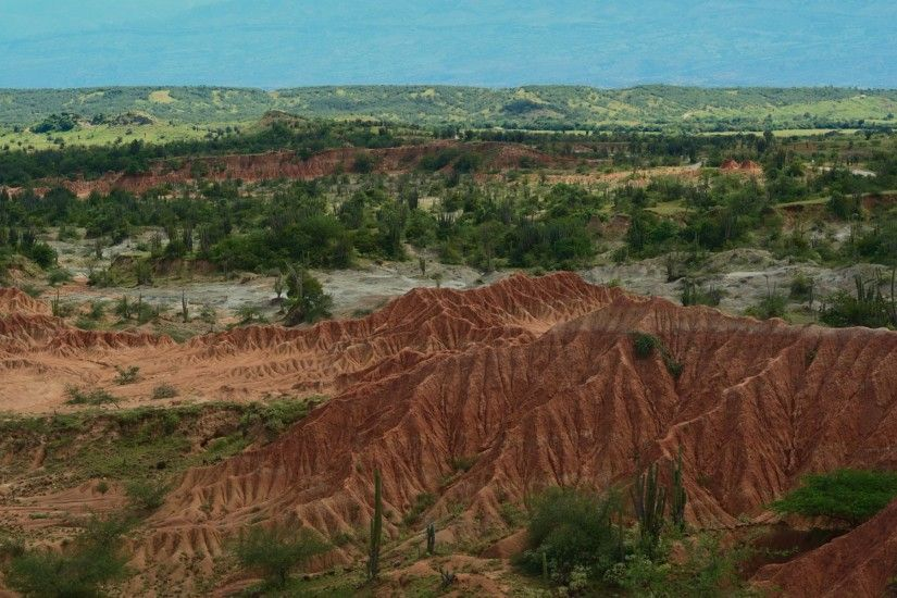 Tatacoa Desert Colombia wallpapers and stock photos