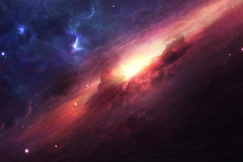 large universe wallpaper 2880x1800
