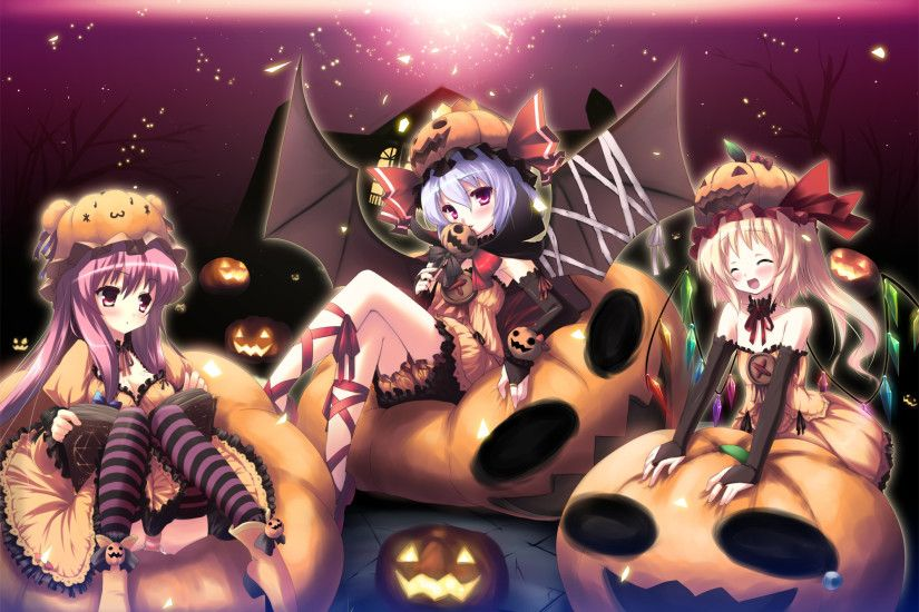 ... Halloween Anime Wallpaper (08) ...