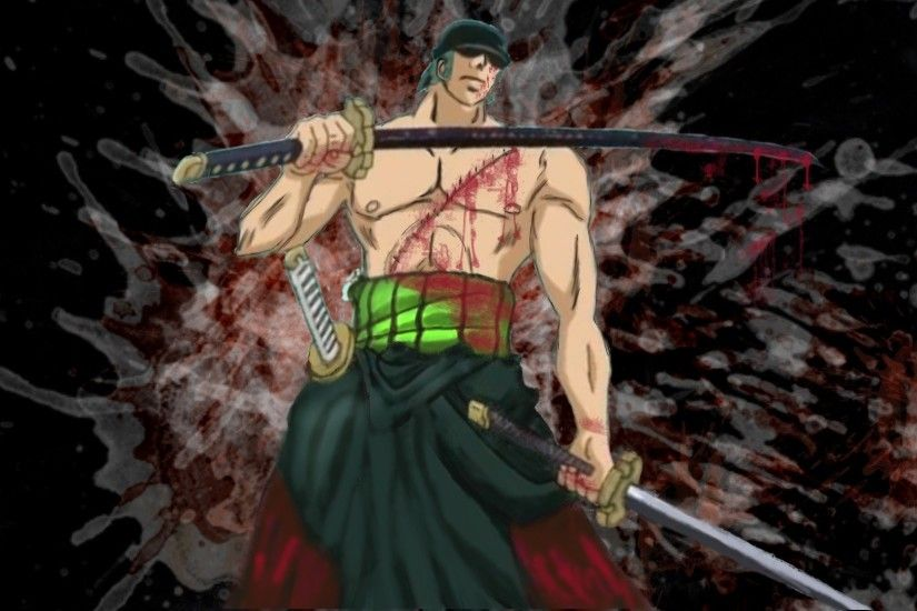 One Piece (anime) Roronoa Zoro swords wallpaper | 1920x1080 | 311612 |  WallpaperUP