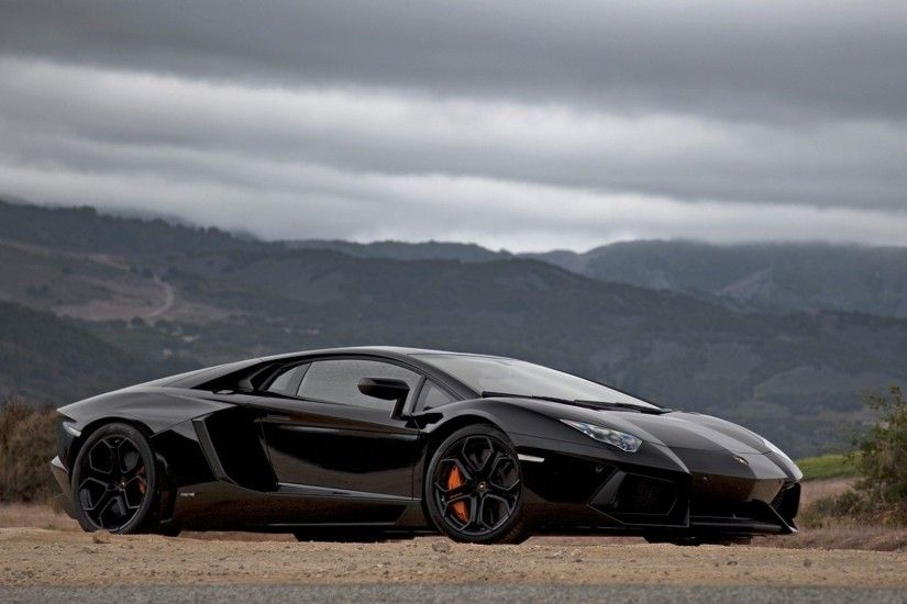Lamborghini Aventador Black 1080p HD Wallpaper (326) Car | – bwalles
