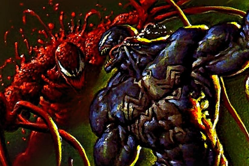 Marvel Comics Carnage Spiderman Wallpaper 1920x1080 taken from .