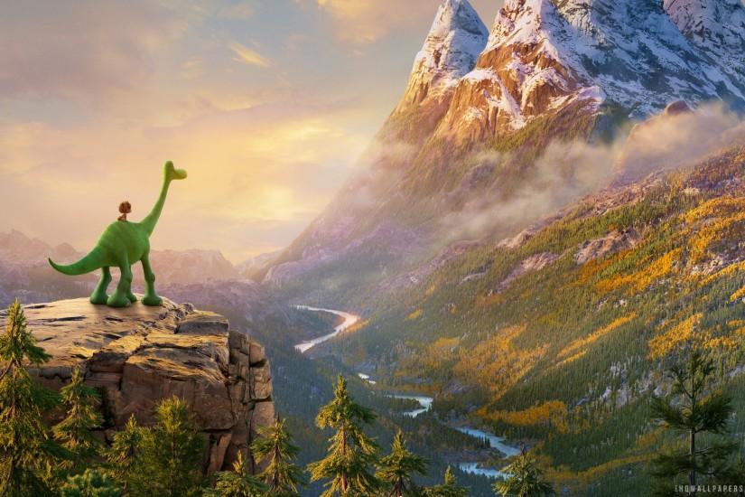 The Good Dinosaur 2015 Movie HD Wallpaper - iHD Wallpapers