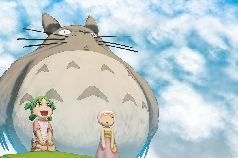 My Neighbor Totoro HD Wallpaper Light Color View