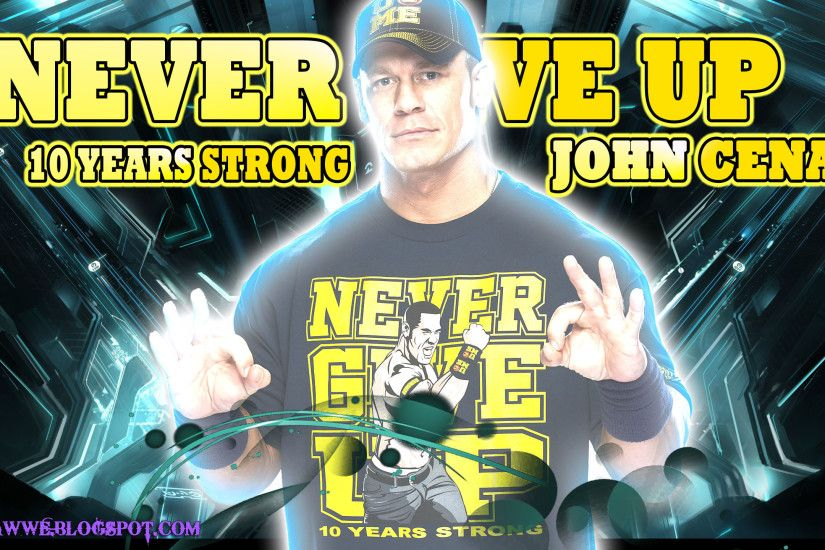 10 Year Strong-John Cena 2013 Wallpaper