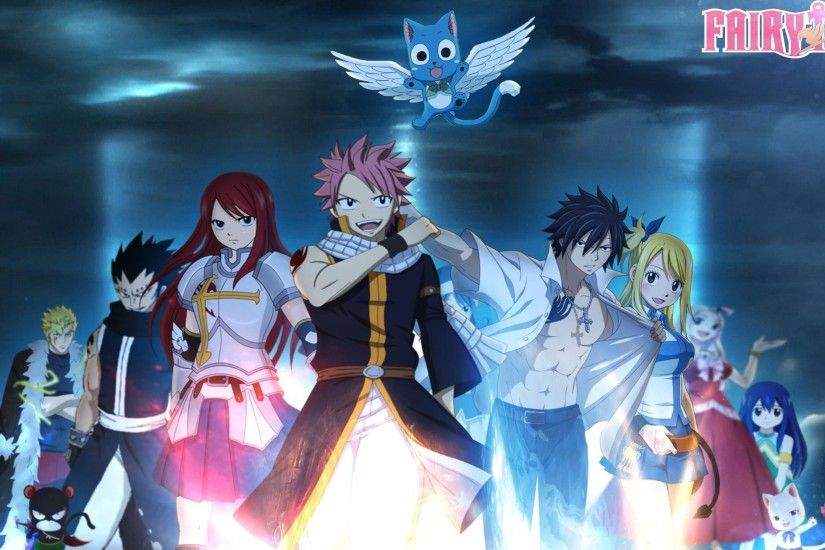 Wallpaper, Wallpaper Fairy Tail by SirAdamantio on deviantART .