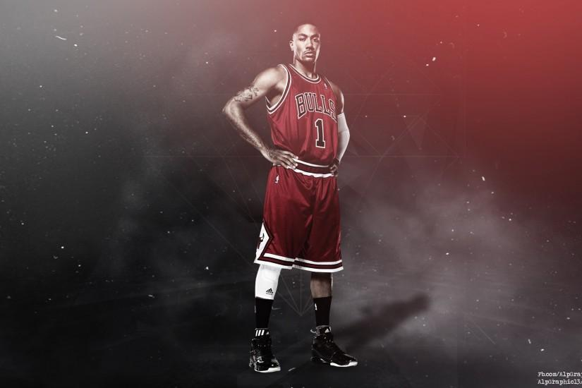 Derrick Rose Wallpaper by AlpGraphic13 Derrick Rose Wallpaper by  AlpGraphic13
