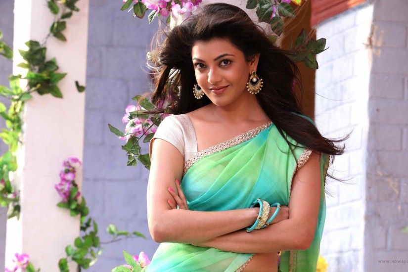 Actress Kajal Agarwal Desktop Wallpaper