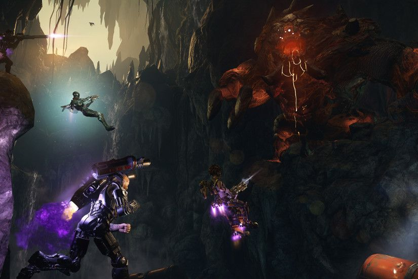 Evolve™ Adds 'Behemoth' Monster, Four New Hunters, and More | Business Wire