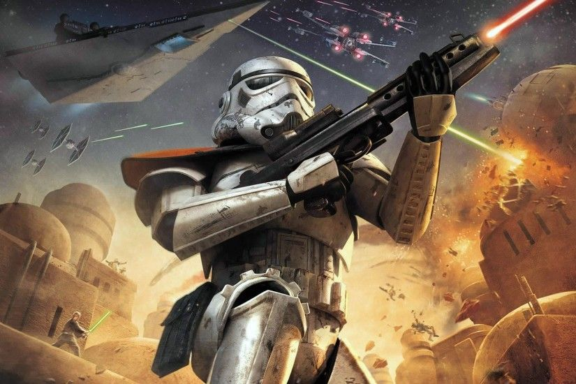 Wallpaper Star Wars Clone trooper Games