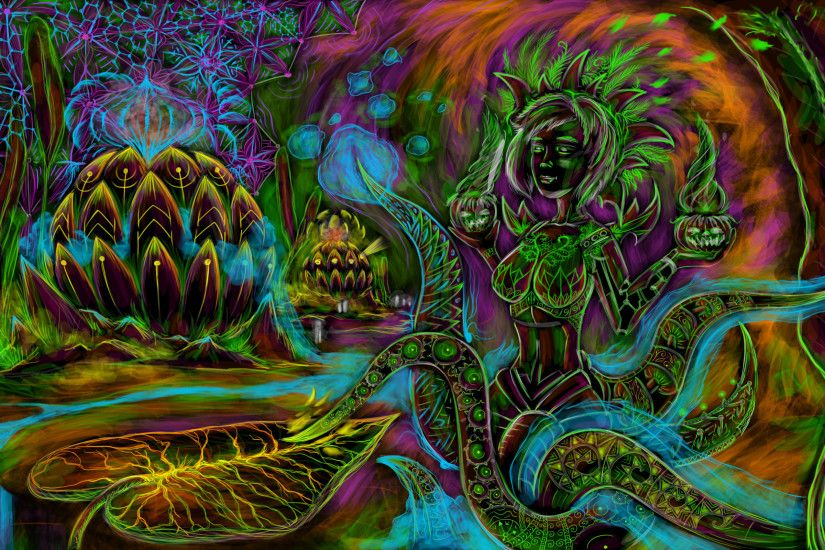 Trippy Mushroom Wallpaper HD #7a4uw ~ Wallove