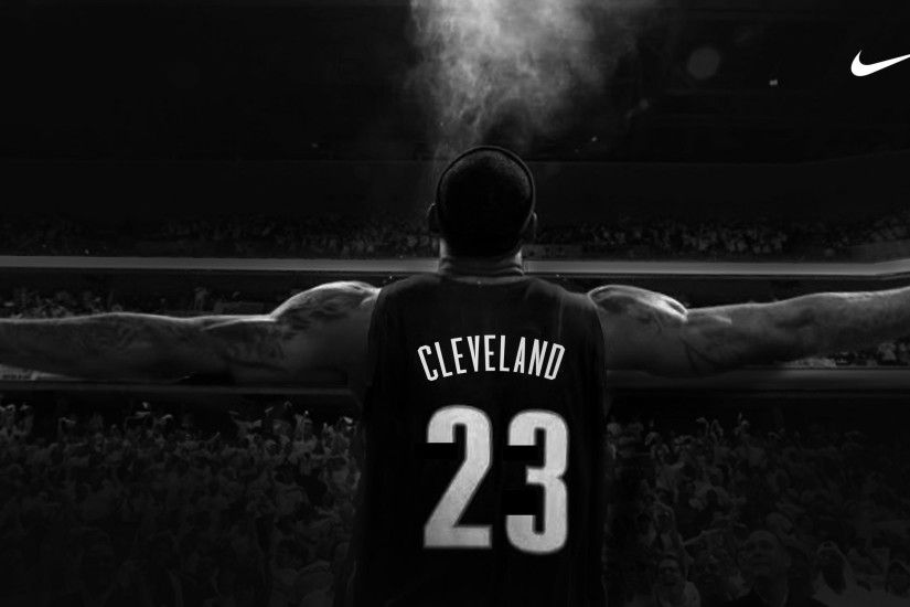 The new LeBron James banner is set to go up across form the Q. (