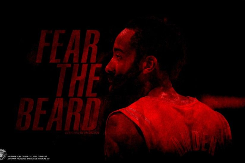 James Harden Fear the Beard Poster Desktop Background HD .