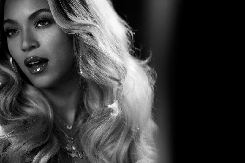 singer, Beyoncé, Monochrome, Face Wallpapers HD / Desktop and Mobile  Backgrounds