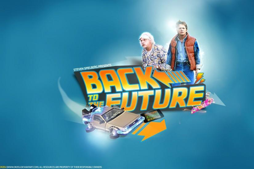 Desktop Background - back to the future
