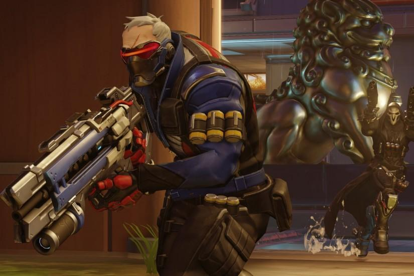 free download soldier 76 wallpaper 1920x1080 for samsung galaxy