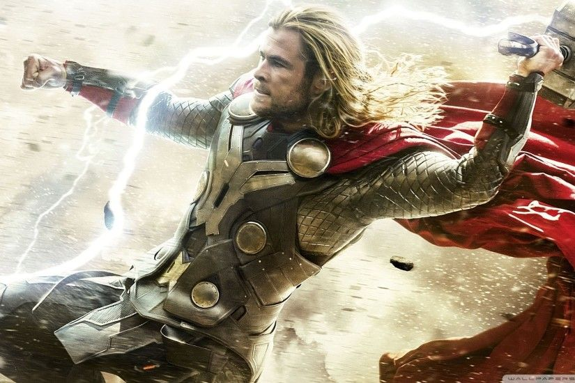 American Superhero film Thor The Dark World HD Wide Wallpaper for Widescreen