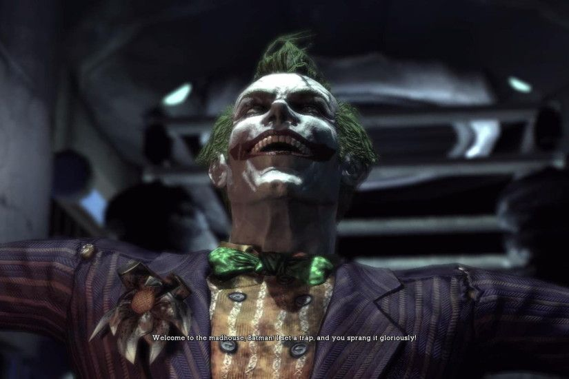 Arkham Asylum joker screenshot