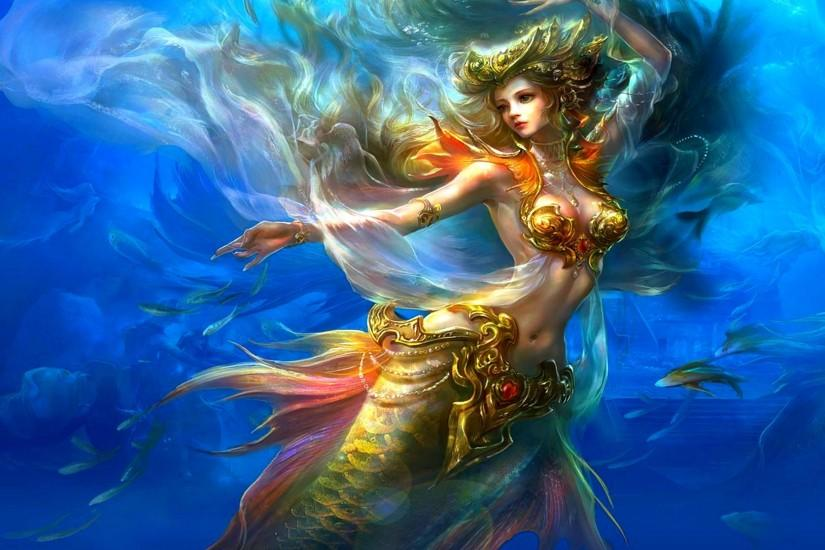Fantasy - Mermaid Wallpapers and Backgrounds ID : 252932