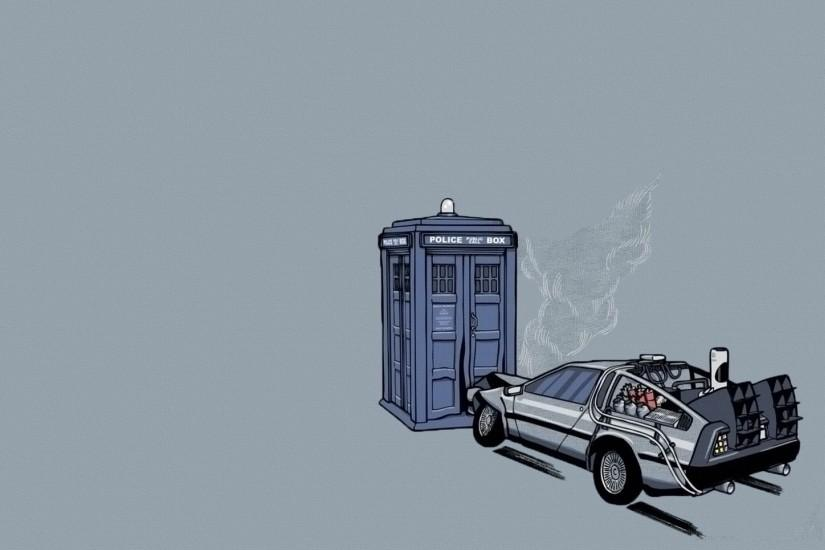 Back To The Future Wallpaper 747320