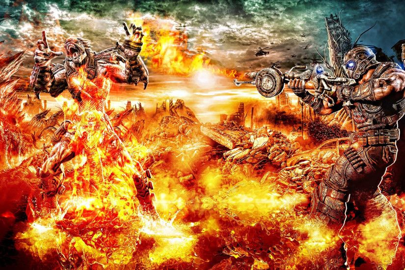 Gears of War - Burn in Hell #GOW