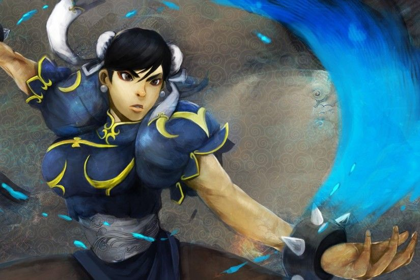 3840x2160 Wallpaper chun-li, street fighter, fighter, art