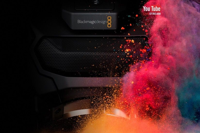 "Blackmagic Live Stream ""Camera and DaVinci Resolve"" Press Conference"