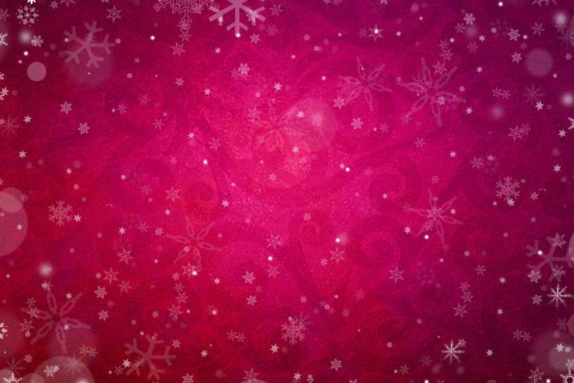 Snowflake Pink Wallpaper as Background. Download