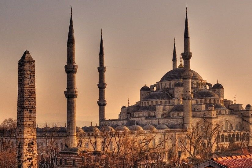 Sultan Ahmed Mosque (Blue Mosque) is a historical mosque built from 1609 to  in Istanbul, the largest city in Turkey and the capital of the Ottoman  Empire ...