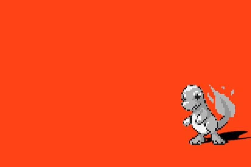 Pokemon simple background Charmander red background wallpaper